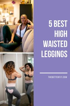 The top 5 high waisted leggings for casual or athletic wear. Whether for a workout, sports activity, athletic wear, these pants pair perfectly with your outfit selections. #thebetterfit #highwaisted #leggings #workout #outfit #ootd Highwaisted Leggings, Gym Leggings, Workout Leggings, Women's Fashion, Fashion Outfits, Fashion Tips, Body Confidence, Crop Top And Shorts, Love Handles