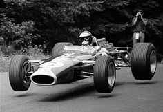 Jim Clark Lotus 1967...Back when Men were Men.