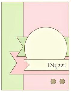 STAMPARADISE: TSG222 - Sketch Challenge