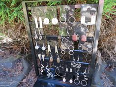 A sample of our earrings.........by Sandy River Jewelry