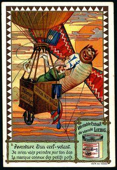 Liebig S667 Adventures of a Kite #3 by cigcardpix, via Flickr