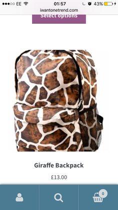 Giraffe, Take That, Backpacks, Bags, Stuff To Buy, Handbags, Felt Giraffe, Taschen, Women's Backpack