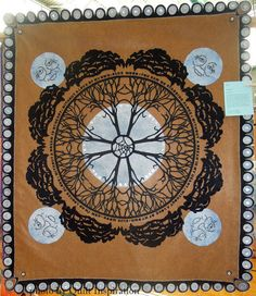 Blue Moon by Ruth Hoglund.  2015 DVQ show.  Photo by Quilt Inspiration.