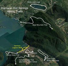 Harrison Hot Springs - hiking, biking, paddling paradise