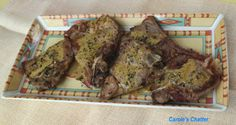S Lamb Shoulder Chops, Basil Sauce, Lemon Basil, Garlic Oil, Oven Dishes, Frying Oil, Banana, Beef, Stuffed Peppers