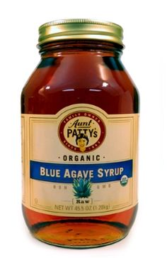 how to make agave syrup from agave sugar