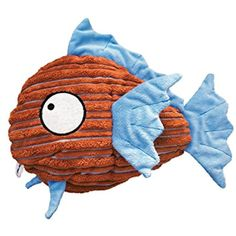KONG Cuteseas Fish Dog Toy, Small @ If you want to know more, click on the image. (This is an affiliate link and I receive a commission for the sales)