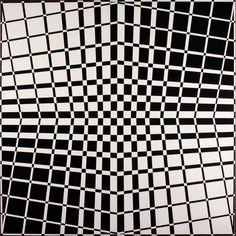 Julio Le Parc (1928-), Surface series, Broken sequences, acrylic on canvas, 200 x 200 cm, 1959-1991