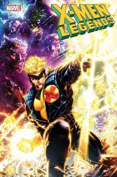 Marvel Comics, Marvel Heroes, Comic Art, Comic Books, Omega Red, Wolfsbane, Man Child, Power Girl, New Adventures
