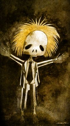 skeleton beetlejuice by berkozturk.deviantart.com on @deviantART