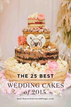 The 25 Best Wedding Cakes of 2015 | Martha Stewart Weddings