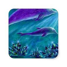 水晶とイルカの海2
