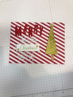 Stampin' Up! demonstrator Linda H's project showing a fun alternate use for the Watercolor Winter Simply Created Card Kit.