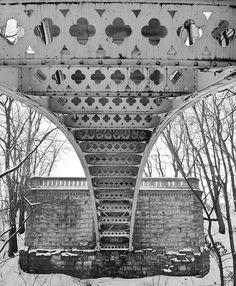 photo of a bridge by Milwaukee Lakefront