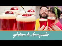 ▶ Gelatina de Champanhe | Cozinha para 2 - YouTube