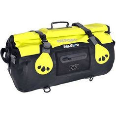 Oxford Motorcycle Aqua T70 Waterproof Motorbike Luggage 70 Litre Capacity Black Yellow: Amazon.co.uk: Car & Motorbike