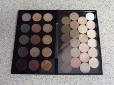 Eyeshadow Addicts Anonymous: NEW MAC Pro Palette: Large Duo (Double Sided) Review