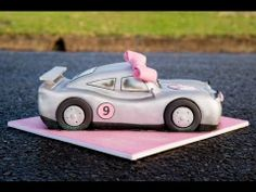 How to make a Sports Car Cake - YouTube