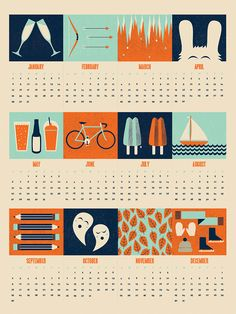 calendar graphic design - Buscar con Google