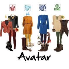 Dressing like an Avatar.