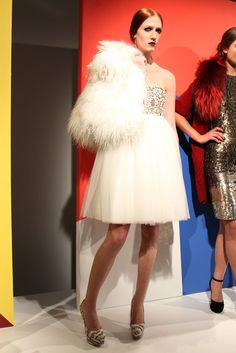 Loved all of the flirty, whimiscal skirts. This was a favorite of mine! -Alice+Olivia RTW Fall 2012