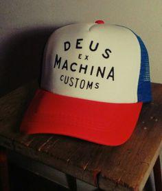 Cap trucker deus ex Machina 2a077c49f44b