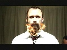 Neil Fallon of Clutch.  Only the stache does not burn.