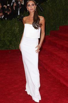 Victoria était élégante lors de l'occasion du gala du MET 2014