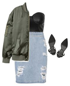 """Untitled #1238"" by crazytigerlady ❤ liked on Polyvore featuring Alexander Wang, IRO and H&M"