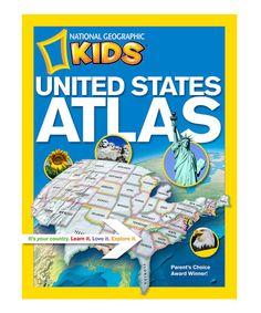 Look at this #zulilyfind! Kids United States Atlas Paperback #zulilyfinds