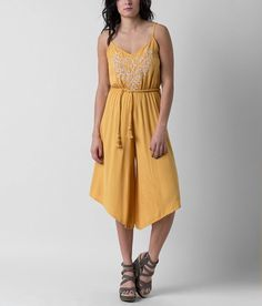 O'Neill Belize Romper - Women's Rompers/Jumpsuits in Golden Sun | Buckle