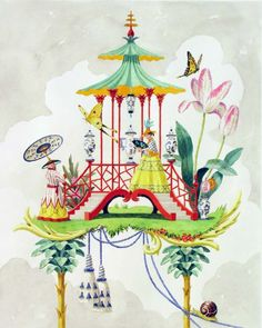 Chinoiserie by Harrison Howard. Penelope Bianchi blog