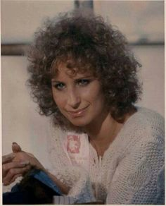 """A Star Is Born. Back Stage at the first concert with """"John Norman Howard"""". Curly Perm, Barbra Streisand, Permed Hairstyles, A Star Is Born, Curlers, Hello Gorgeous, Female Singers, One And Only, Curly Hair Styles"""