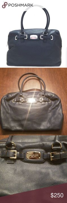 025d158407ce66 Michael Kors Hamilton Weekender bag Authentic Michael Kors Large Weekender  Hamilton Leather Handbag. Buttery soft