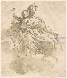 Giovanni Battista Tiepolo | Virgin and Child in the Clouds | The Morgan Library & Museum
