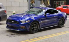2016 mustang impact blue - Google Search