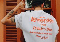 Leonardo's Pizza Palace Ästhetisches Design, Logo Design, Aesthetic Shirts, Costume Collection, Leonardo, Tee Shirt Designs, Self Branding, Apparel Design, Graphic Tees