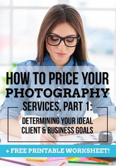 Photography Service Pricing Pt 1. Hobby to Pro Photo. http://hobbytoprophoto.com/pricing-your-photography-services-part-1/