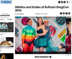 LA WEEKLY! David Klasfeld, Reyes (Nicky Whitten's body painting) and I in the Obsessive Compulsive Cosmetics booth! #RupaulDragCon http://www.laweekly.com/slideshow/stilettos-and-smiles-at-rupauls-dragcon-2016-6912201/7