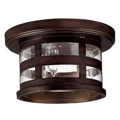 Capital Lighting C9956BB Mission Hills Ceiling Ceiling Mounted - Burnished Bronze