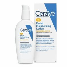 Cerave face moisturizer. I have oily/combination skin. I love the consistency of this product. My skin feels smooth, non greasy and the product is quickly absorbed by my skin. For $14.99 you can't beat the quality of this product. This lotion comes for AM use with 30 SPF and PM w/o SPF. Also have hyaluronic acid to plump the skin. Give it a try.