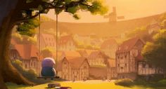 """""""The Dam Keeper"""" by Dice Tsutsumi* & Robert Kondo 