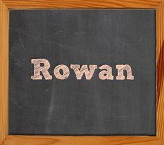 ROWAN ~ 24 Back to School Baby Names | Disney Baby