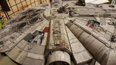 Top details are done. Hero Series Millennium Falcon repaint by Samurai Geek Designs.