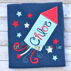 4th of july applique embroidery designs