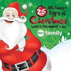 Here it is! ABC Family has released the 25 Days Of Christmas schedule for this December 2013!