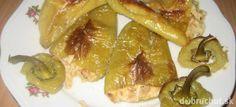 Fotorecept: Pečená paprika plnená so syrom