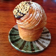 A bakery in San Francisco has come out with the latest in hybrid food. It's the CRUFFIN!