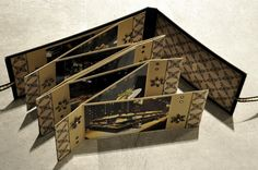 Accordian fold mini book