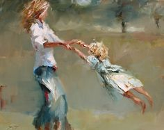 Mother and Child Art - Susie Pryor